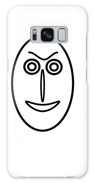 Mr Mf Is Friendly  Galaxy Case