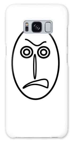 Mr Mf Is Very Angry Galaxy Case