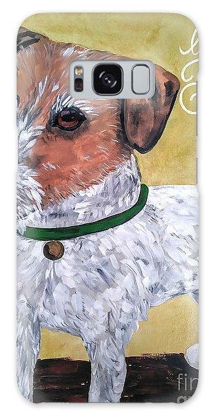Mr. R. Terrier Galaxy Case by Reina Resto