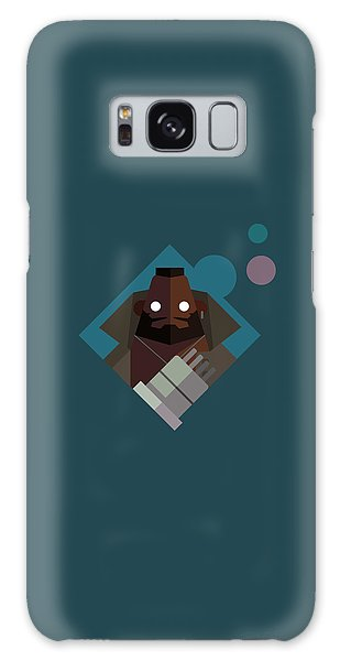 Mr. Wallace Galaxy Case by Michael Myers