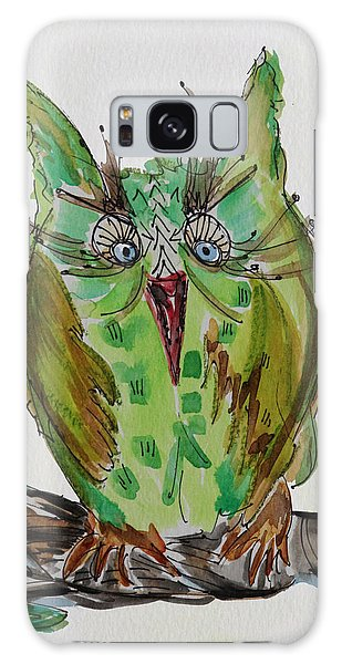 Mr.lime Owl Galaxy Case
