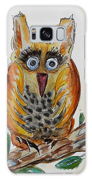 Mr.orange Owl Galaxy Case
