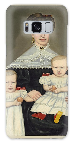 Mrs Paul Smith Palmer And Her Twins Galaxy Case