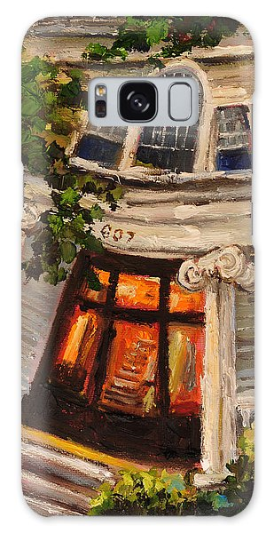 Ms Felkers Home Galaxy Case by Carole Foret