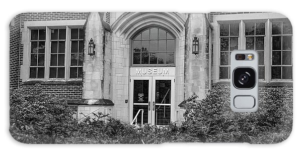 Msu Museum Black And White  Galaxy Case by John McGraw