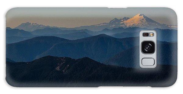 Mt. Baker From Mt. Pilchuck Galaxy Case