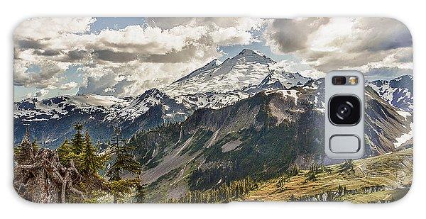 Mt Baker Panoramic Galaxy Case