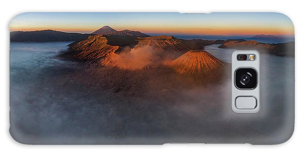 Mt Bromo Sunrise Galaxy Case