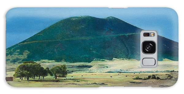 Mt. Capulin In Summer Galaxy Case