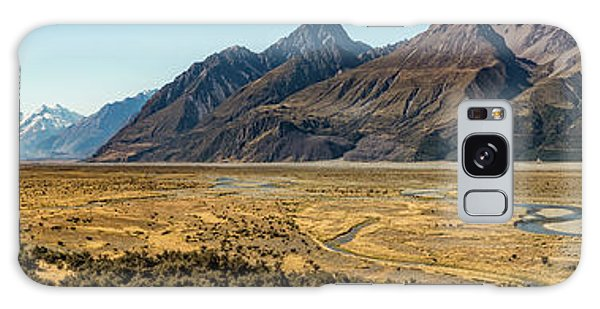 Galaxy Case featuring the photograph Mt Cook And Tasman River  by Gary Eason