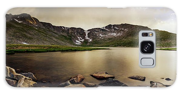 Mt. Evans Summit Lake Galaxy Case