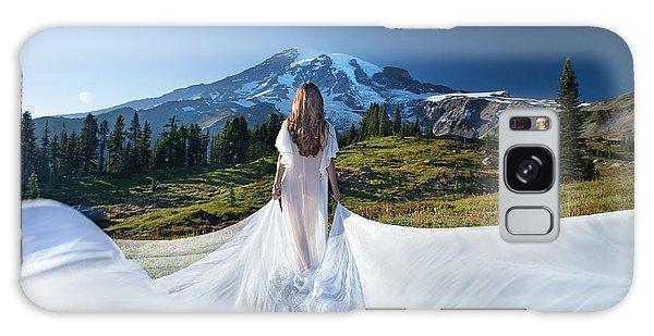 Mt Goddess Galaxy Case by Dario Infini