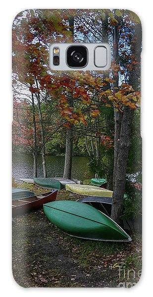 Mt. Gretna Canoes In Fall Galaxy Case