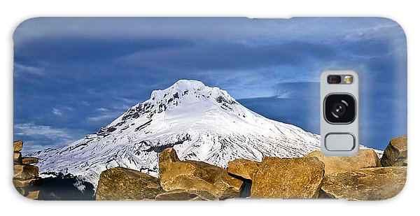 Mt Hood With Talus Galaxy Case