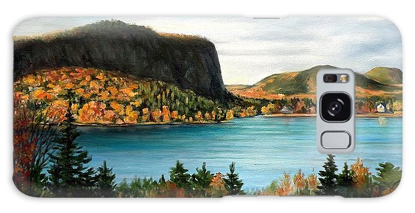 Mt. Kineo, Rockwood, Maine Galaxy Case