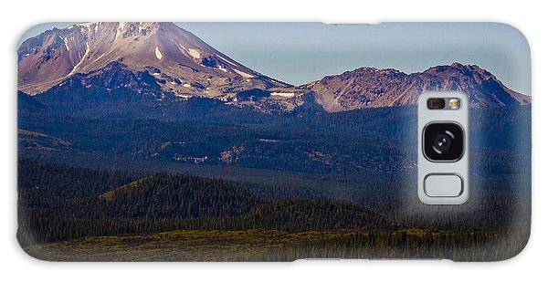 Mt Lassen And Chaos Crags Galaxy Case by Albert Seger
