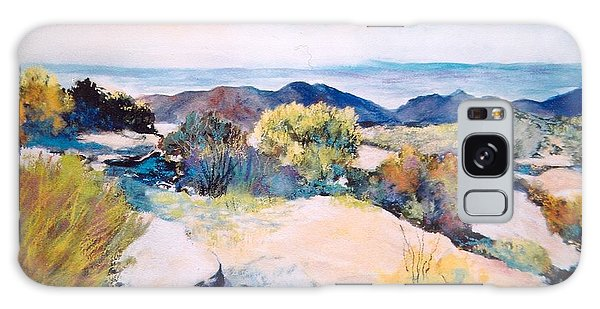 Mt Lemmon View Galaxy Case by M Diane Bonaparte