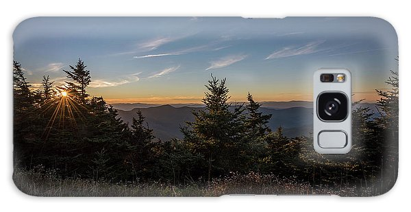 Mt Mitchell Sunset North Carolina 2016 Galaxy Case by Terry DeLuco