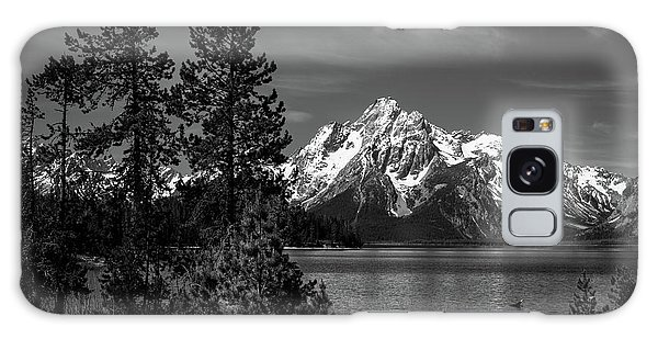 Mt. Moran And Trees Galaxy Case