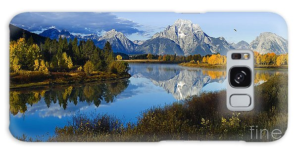 Mt. Moran On The Snake River Galaxy Case
