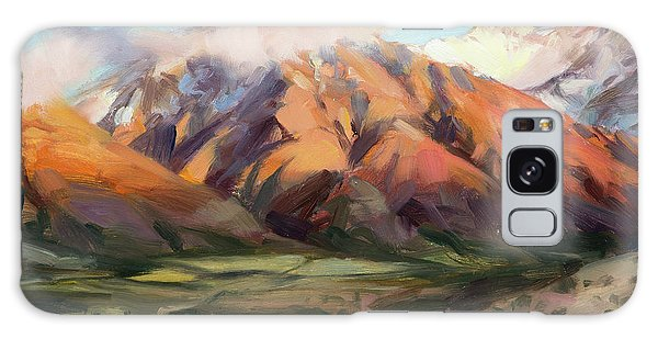Galaxy Case featuring the painting Mt Nebo Range by Steve Henderson