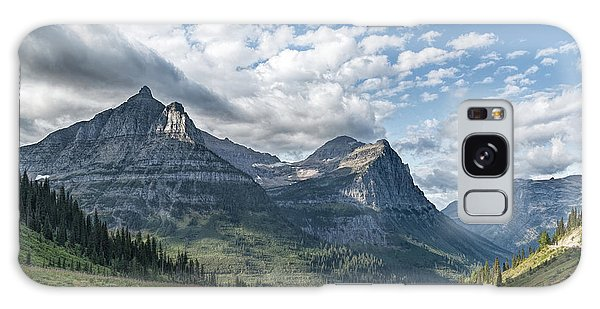Mt. Oberlin From Logan Pass Galaxy Case