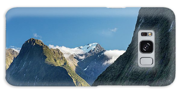 Galaxy Case featuring the photograph Mt Pembroke Glacier by Gary Eason