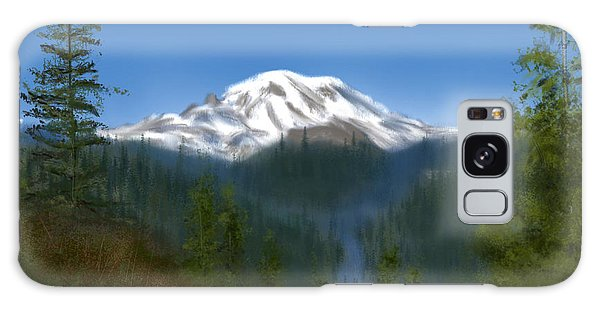 Mt Rainier Galaxy Case