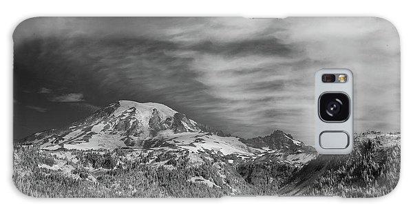 Galaxy Case featuring the photograph Mt. Rainier by Bob Cournoyer