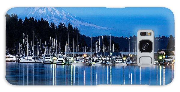 Mt. Rainier From Gig Harbor Galaxy Case