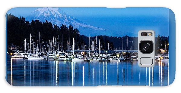 Mt. Rainier From Gig Harbor Galaxy Case