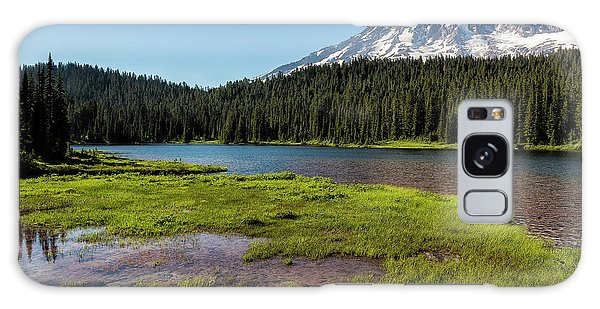 Mt Rainier From Reflection Lake, No. 2 Galaxy Case