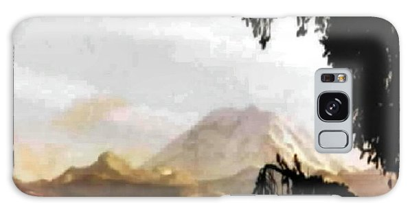 Mt. Rainier In Lace Galaxy Case