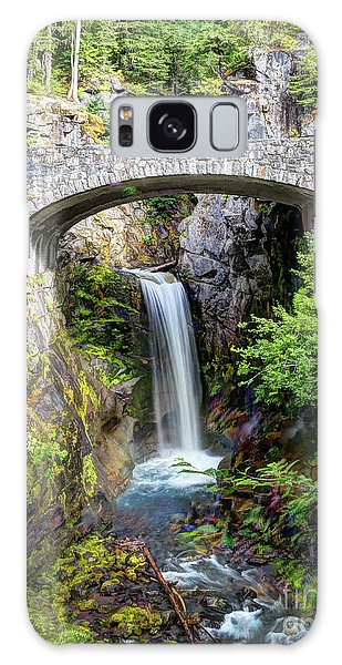 Mt Rainier National Park, Christine Falls Galaxy Case