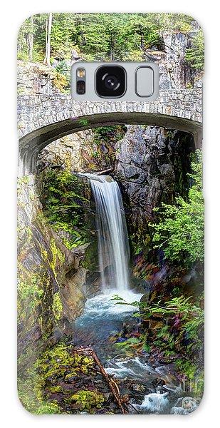 Mt Rainier National Park, Christine Falls Galaxy Case