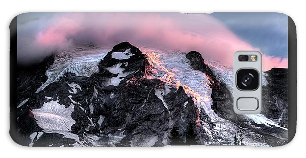 Mt Rainier Sunrise Fine Art Photograph Galaxy Case