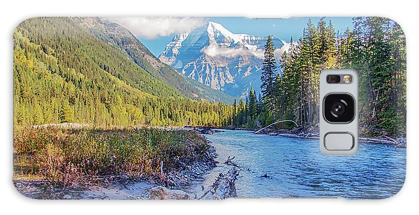 Galaxy Case featuring the photograph Mt. Robson 2009 02 by Jim Dollar
