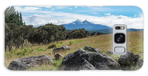 Galaxy Case featuring the photograph Mt Ruapehu View by Gary Eason