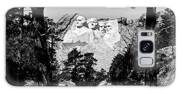 Mt Rushmore Galaxy Case by American School