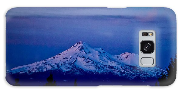 Mt Shasta At Sunrise Galaxy Case by Albert Seger