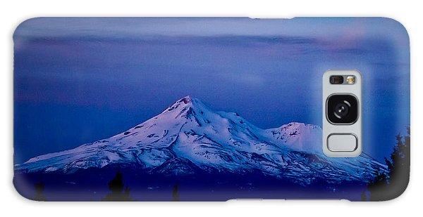 Mt Shasta At Sunrise Galaxy Case