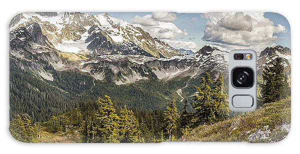 Mt Shuksan Panoramic Galaxy Case