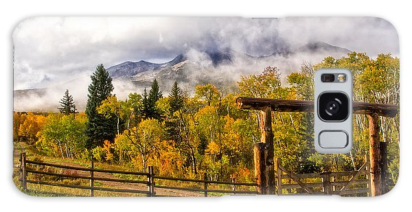 Mt Sopris Under The Clouds Galaxy Case