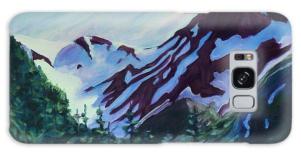 Galaxy Case featuring the painting Mt.roberts Juneau Alaska by Yulia Kazansky