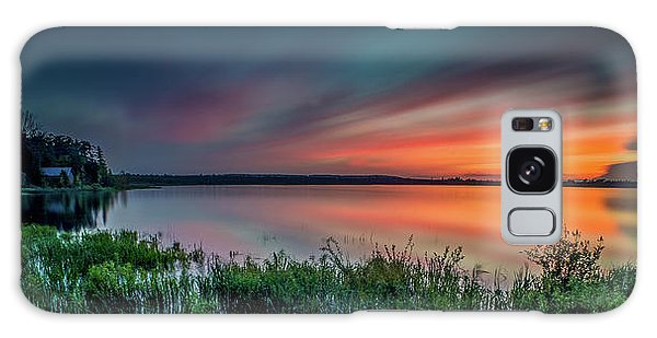 Mud Bay Sunset 4 Galaxy Case