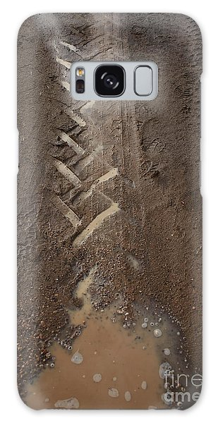 Galaxy Case featuring the photograph Mud Escape by Stephen Mitchell