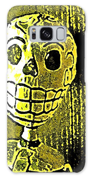 Muertos 1 Galaxy Case by Pamela Cooper