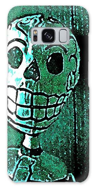 Muertos 4 Galaxy Case by Pamela Cooper