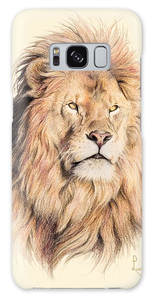 Lion Galaxy Case - Mufasa by Lucie Bilodeau