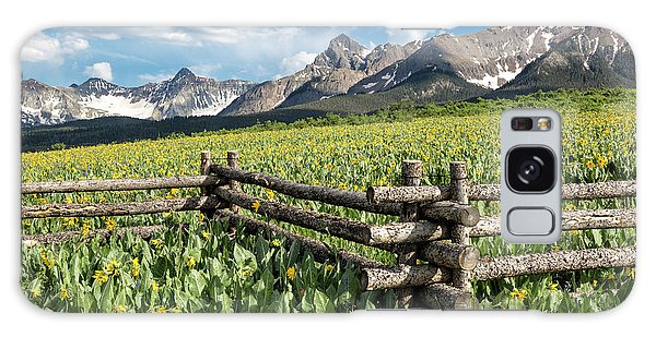 Mule's Ears And Mountains Galaxy Case
